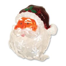 LED Icy Santa Window Decor