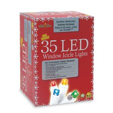 35 Light LED Icicle Set
