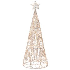 175 Light 3D Cone Tree Sculpture Christmas Decoration