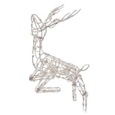 105 Light Multi Posing Deer Sculpture Christmas Decoration
