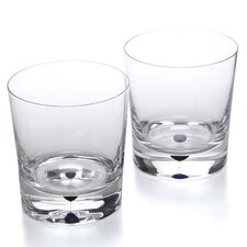 Intermezzo 11 Oz. Double Old Fashioned Glass (Set of 2)