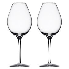 <strong>Orrefors</strong> Difference Primeur Wine Glass (Set of 2)