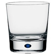 <strong>Orrefors</strong> Intermezzo Blue 13 oz. Double Old Fashioned Glass