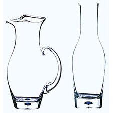 Intermezzo Blue 38 oz. Wine Carafe