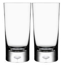 <strong>Orrefors</strong> Intermezzo Satin Tumbler (Set of 2)