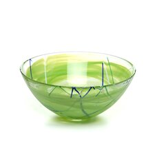 <strong>Kosta Boda</strong> Contrast Large Lime Bowl