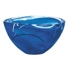 Contrast Small Blue Bowl