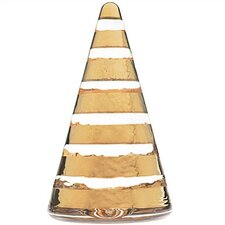 Noel Small Gold Wide StripeTree