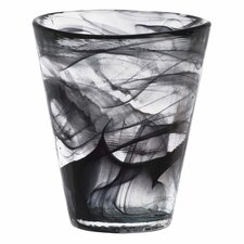 <strong>Kosta Boda</strong> Mine Black Tumbler Glass
