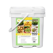 160 Servings Emergency Freeze Dried Vegetables