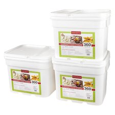 <strong>Lindon Farms</strong> 360 Meals Emergency Food Storage (Set of 3)