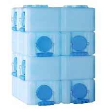 28 Gallon Stackable Water Container Kit