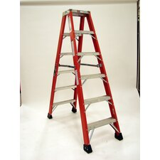 4.1' Extra Heavy Duty Double Front Step Ladder