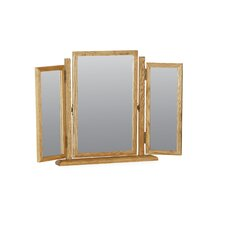 Hardy Oak Triple Dressing Mirror