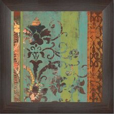 Temple Garden Framed Graphic Art