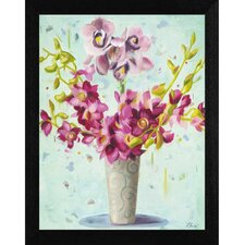 Spring & Whimsy Framed Painting Print