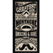 Great American Mustache Wall Art