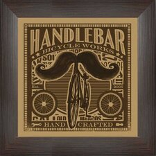 Handlebar Wall Art