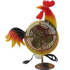 Himalayan Breeze Medium Decorative Rooster Fan