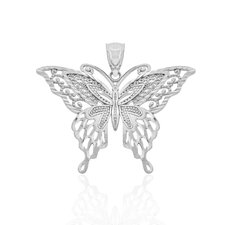 Ornate Filigree Butterfly Charm