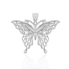 Ornate Filigree Butterfly Charm