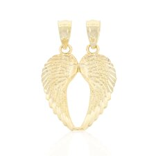 Break a Part Angel Wings Charm