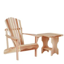 <strong>All Things Cedar</strong> Adult Adirondack Seating Group