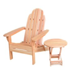 Folding Adirondack Seating Group