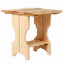 <strong>All Things Cedar</strong> Adirondack Side Table