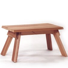 <strong>All Things Cedar</strong> Cedar Foot Rest