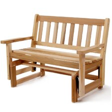 <strong>All Things Cedar</strong> Cedar Glider Loveseat