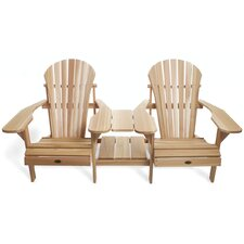 Adirondack Tete-a-Tete Seating Group