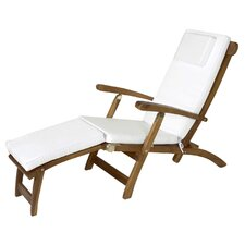 Steamer Lounge Chair with Cushion