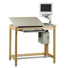 "Computer Aided Design 42""W x 30""D Drawing Table"