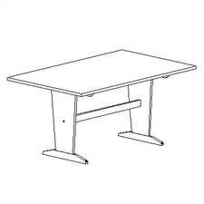 "72"" x 48"" Rectangular Classroom Table"