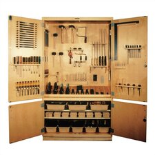 <strong>Shain</strong> Small Woodworking Tool Storage Cabinet