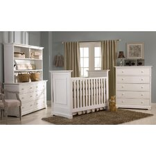 <strong>Muniré Furniture</strong> Chesapeake 3-in-1 Convertible Crib Set