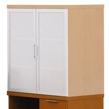 "Unity Executive Series 36"" Freestanding Mixed Storage Cabinet"