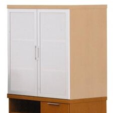 "Unity Executive Series 35"" Floating Mixed Storage Cabinets"