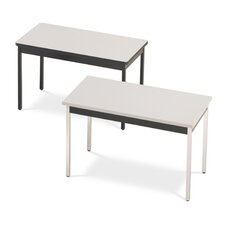 "<strong>ABCO</strong> 40"" Wide, 20"" Deep Self Edge Utility Table"