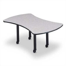 "<strong>ABCO</strong> 120"" Wide Presentation Top Conference Table with Designer Base"