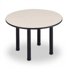 "<strong>ABCO</strong> 60"" Diameter Round Top Conference Table with Designer Base"