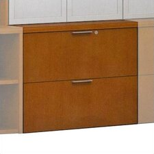 Unity Executive Series 2-Drawer Wood Freestanding  File