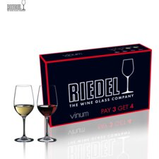 <strong>Riedel</strong> Pay 6 Get 8 Vinum Chardonnay Wine Glass Set
