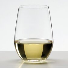 """O"" White Wine Glass"