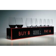 """O"" Red Wine Glass (Set of 8)"