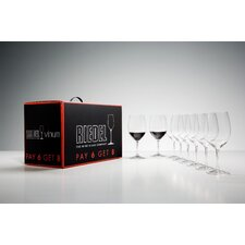 <strong>Riedel</strong> Pay 6 Get 8 Vinum Cabernet/Bordeaux Wine Glass Set (Set of 8)