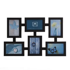 6 Opening Totem Collage Picture Frame