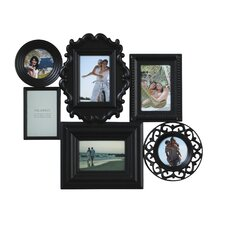 6 Opening Collage Picture Frame