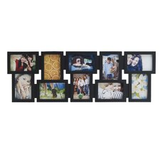 10 Opening Black Collage Picture Frame
